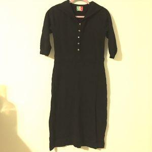 Vintage Italian Wool Dress